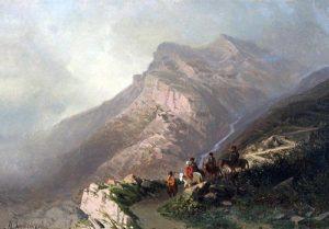 Дорога в Гуниб