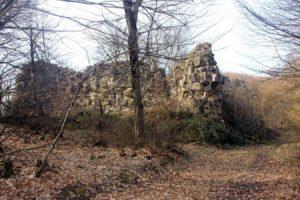 Южная и восточная стена форта