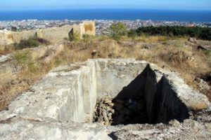 Форт около цитадели Нарын-кала