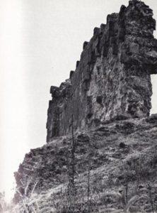 Остатки Горной стены в ауле Камах