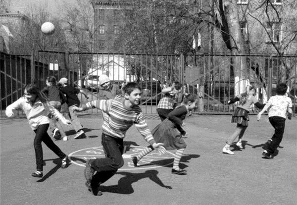 7 стёклышек - дворовая игра