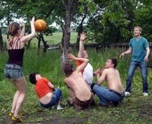 Картошка - увлекательная активная игра