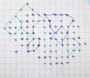 Точки - игра на бумаге