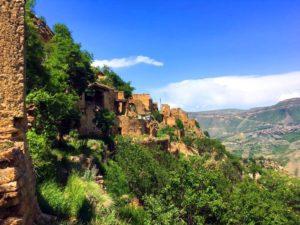 Вид с окраины села