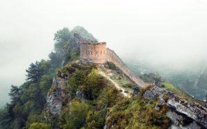 Гимры, башня крепости