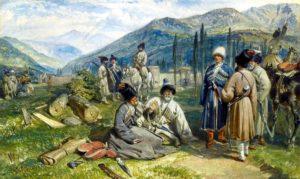 Кавказ 17 век