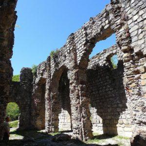 Кавказская Албания храм около села Кум