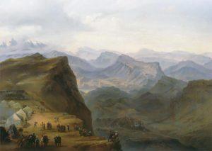 Каспар Давид Фридрих, Утро в горах