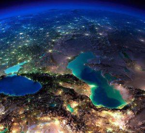 Кавказ фото - Ночь