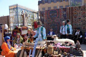 Табасаранский ковер, день города 2015 год