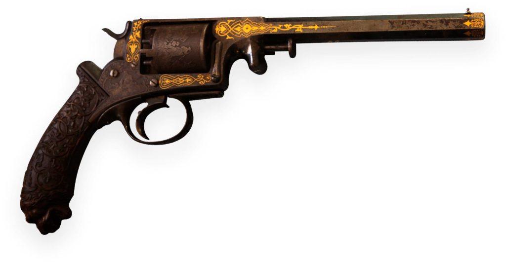 Пистолет кремниевый