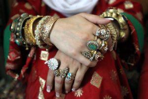 Украшения из серебра и золота - Кубачи