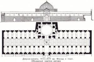 Джума-мечеть план