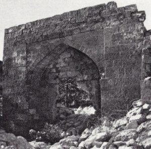 Портал ханского дворца в цитадели 1950