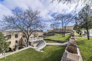 Парк в крепости
