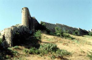 Дербент, северная стена крепости