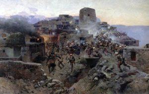 Штурм аула Гимры, 1891