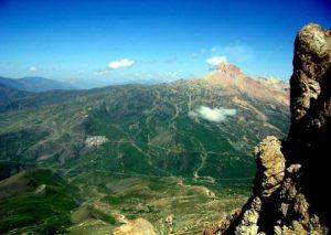 Гора Шалбуздаг вид с противоположной горы