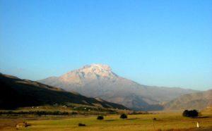 Шалбуздаг с долины Самура