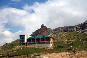 Гостиница на горе Шалбуздаг