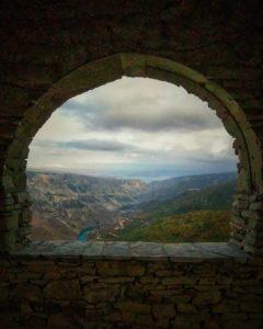 Вид на Чиркейскую ГЭС