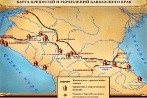 Линия крепостей Кавказской линии
