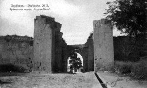 Ворота южной стены Дубара-капы