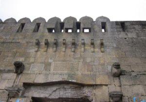 Над воротами Кырхляр-Капы
