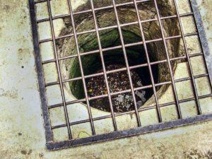 Яма на входе в крепость