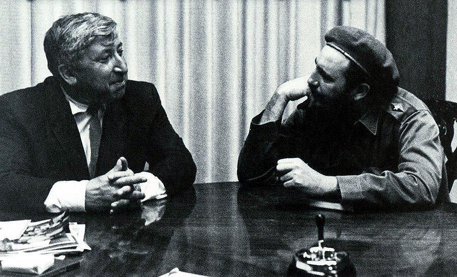 Расул Гамзатов и Че Гевара